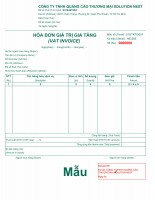 Hóa đơn điện tử Vina (HDDT)