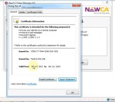 Chỉ sẻ: Gia hạn cks Newca-Ca