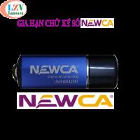 Gia hạn cổng chữ ký Newca