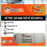 Gia hạn chữ ký số EasyCa, hổ trợ doanh nghiệp