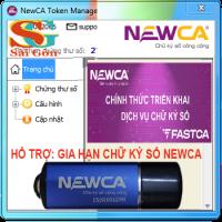Gia hạn chữ ký số kê khai thuế Newca (Newca-Ca)