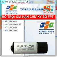 Tổng đài hổ trợ chữ ký số FPT
