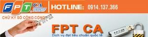 Báo giá gia hạn chữ ký số FPT