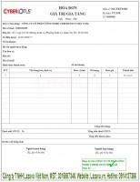 Mua 150 tờ hóa đơn điện tử bkav