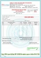 Chọn mẫu hóa đơn điện tử bkav