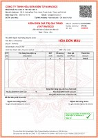 Mua hóa đơn điện tử Vina ở Bình Dương